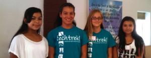 Tech Trek Girls 2013 banner